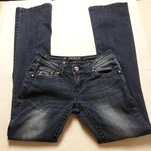 Premier by Rue 21, blue Jean's, size 1/2R